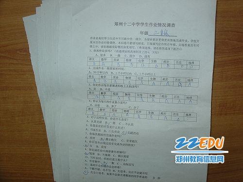 [12中]调查作业旨在为学生减负香河小学图片