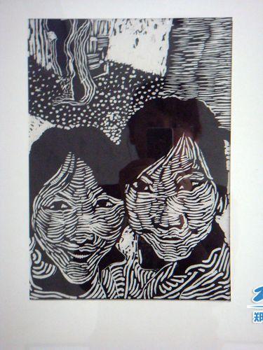 许艳华作品——黑白木刻