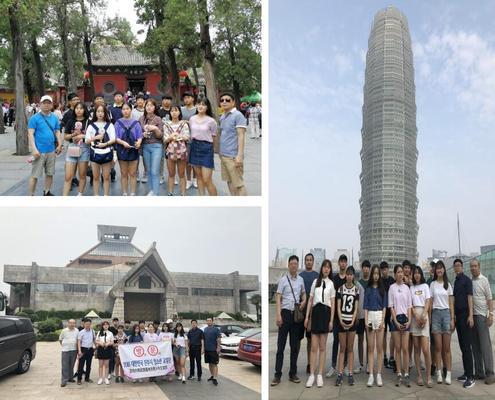 参观少林寺、省博物院等景点和郑东新区,感受到中原文化的博大精深和郑州经济飞速发展的现状。