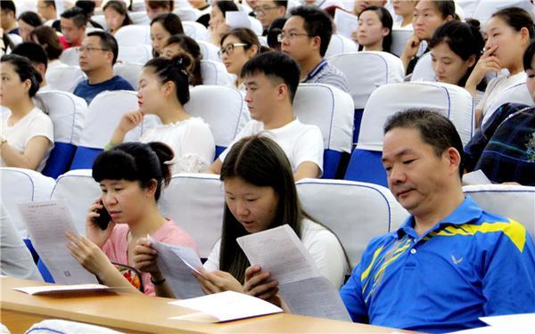 手未来--郑州市教工幼儿园召开2018年小班新生
