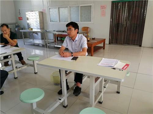 副局长闫书杰提出工作要求
