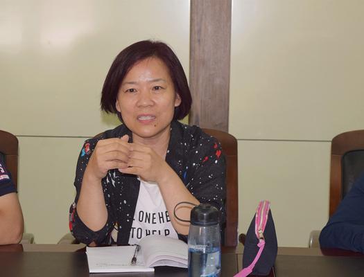 原语文组教研组长付晓华发表自己对新时期语文的看法_副本