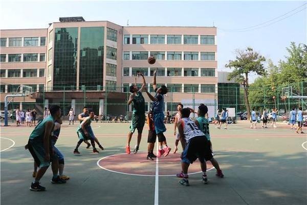 2财贸学校篮球训练