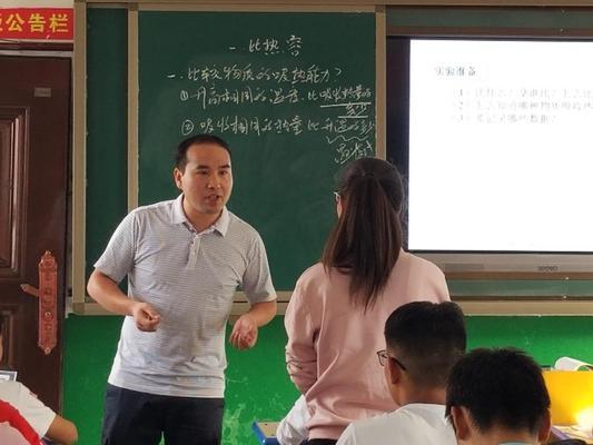 胡新洲老师与同学们亲切交流