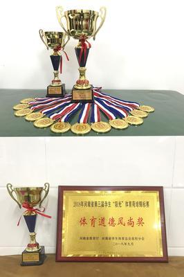 4在本次赛事中所获奖项