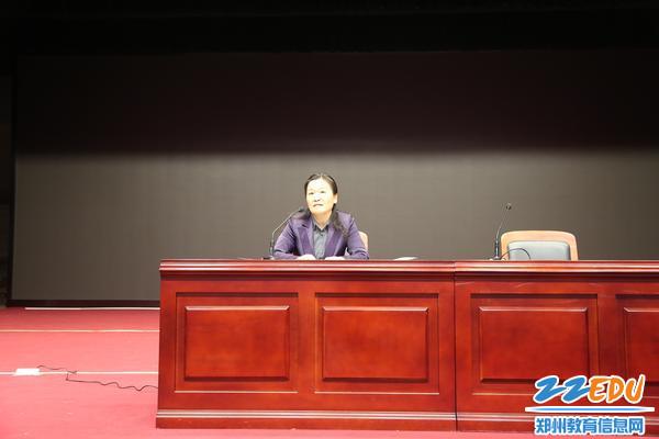 刘枫书记介绍李芳同志事迹,布置学习活动要求