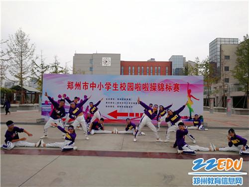 郑州60中在郑州市分式啦啦操锦标赛中荣获两校园初中花间图片