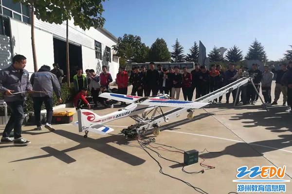 学习航测无人机准备流程