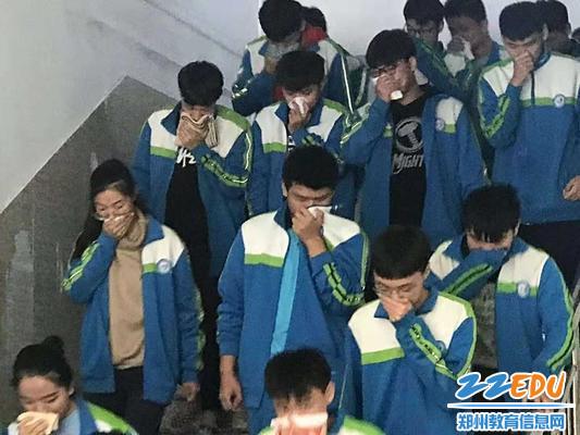 学生疏散演练