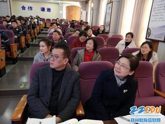 郑州八中校长郅广武、副校长刘莘等均参加了本次观摩研讨