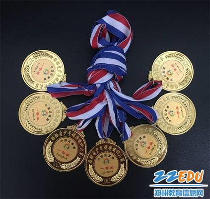 第六届国际青少年创新设计一等奖奖牌