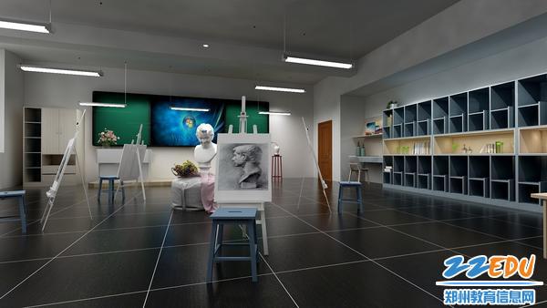 美术教室效果图