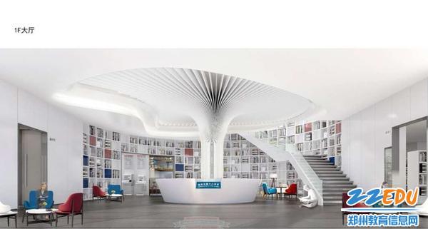 图书馆一层效果图