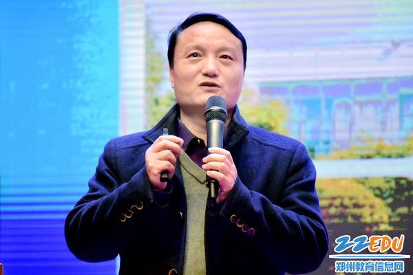 张建涛老师带来讲座《非常之事必待非常之人,非常之时必待非常之举》