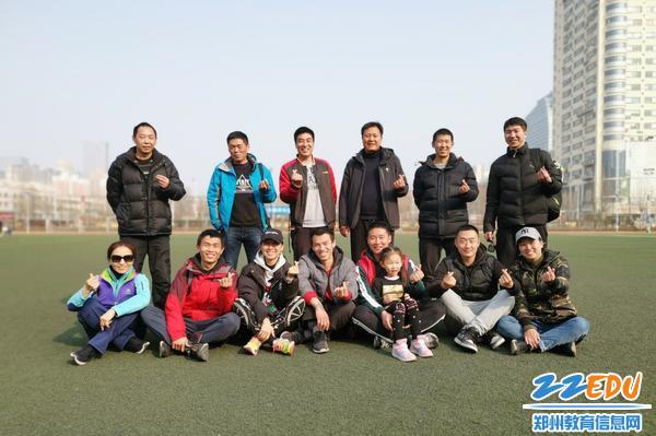 团结拼搏的郑州八中体育组 - 副本
