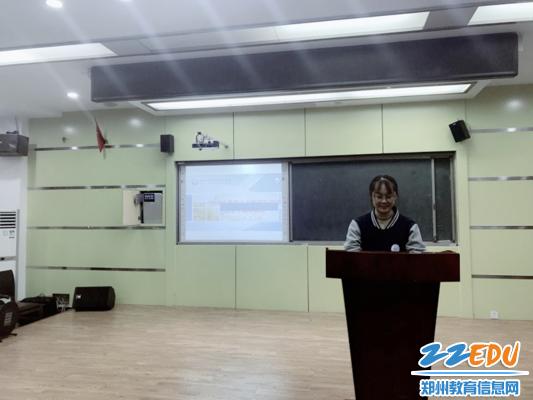 六合开奖记录47中国际部学生会副主席胡景妍分享工作心得_副本
