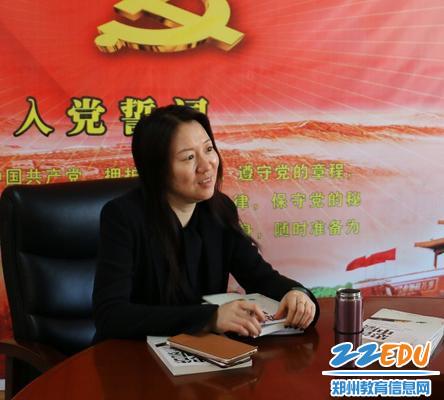 易峰书记对新任干部提出殷切期望