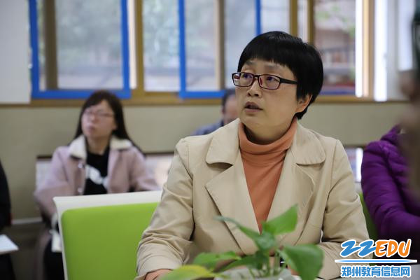 副校长孙桂玲介绍办学优势
