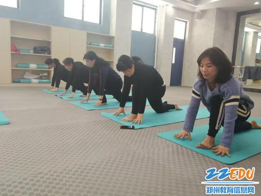 5标准的瑜伽动作