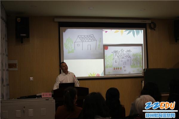 8.郑州市名师、郑州市最美教师、农大附小教务主任孟江涛老师就英语语言学习提供指导