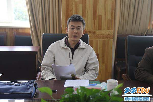 省委高校工委、省教育厅统战处副处长李志刚谈学校民族团结创建工作