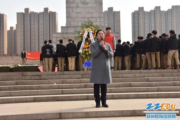 校长段亚萍为活动发表感言和总结