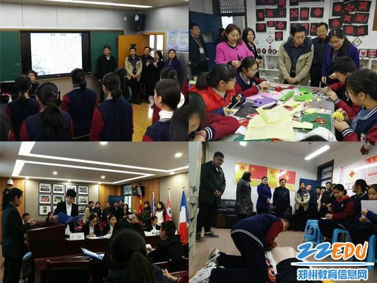 参加丰富多彩的学生社团活动