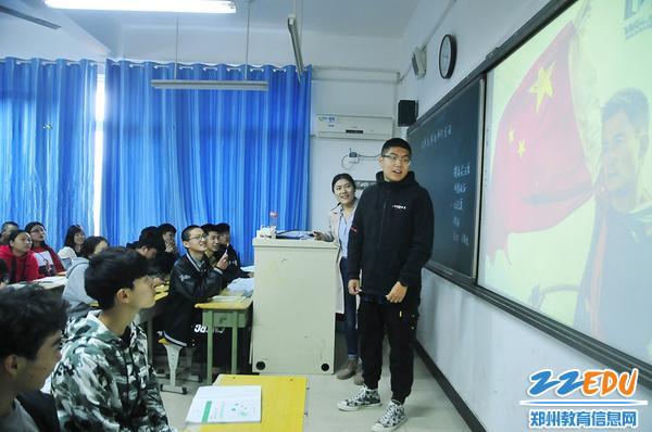 王远老师与学生一起大话《战狼2》营销