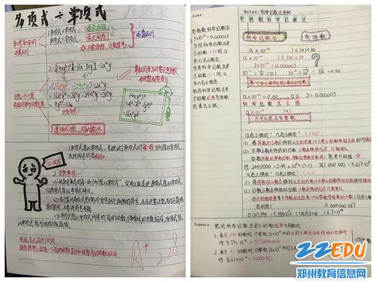 郑州八中学生康奈尔笔记