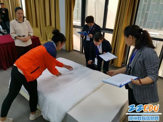 10中式铺床精准测量误差