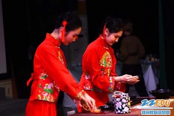 15茶艺项目比赛现场