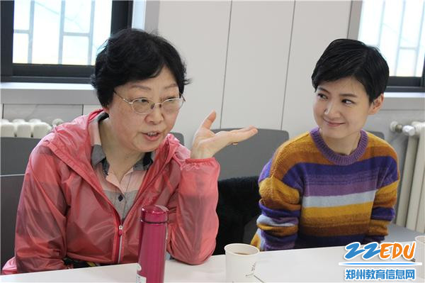 5.河南师范大学新联学院教育学院院长卢新予就园所发展提出中肯建议
