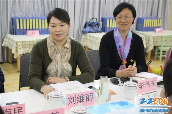 13、郑州市教育督导委员会办公室主任刘维丽进行指导总结