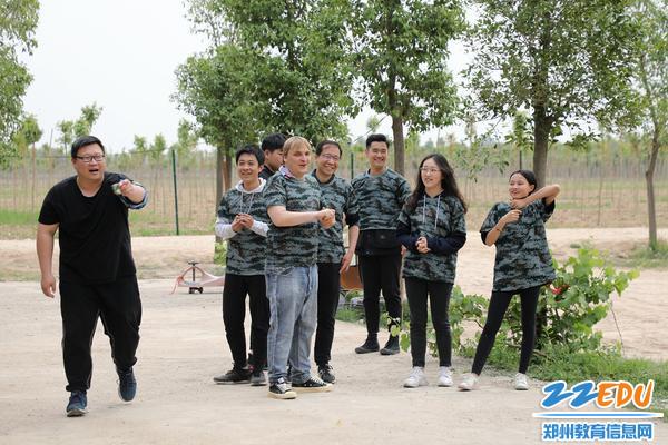 国际部外教参与活动