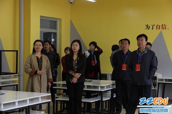 1执法检查组来到郑州第八十中学