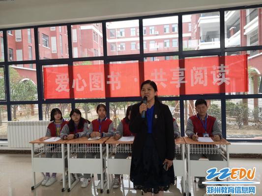 校长段亚萍鼓励同学们要多读书1