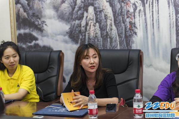 河南省啦啦操健身操(舞)协会副秘书长成爽对本次观摩活动点评