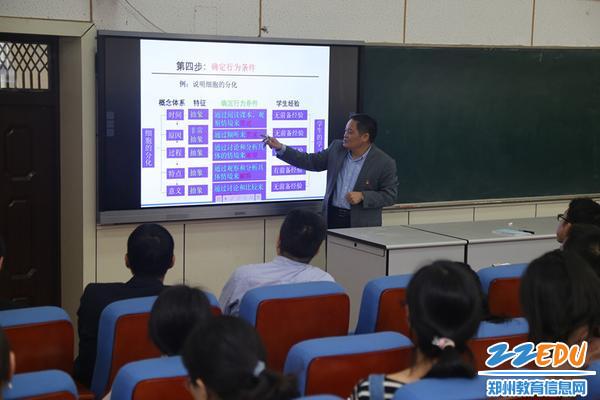 校长李玉国结合学科案例具体阐释从课程标准到学习目标的技术