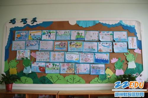 5 家长和孩子们一起制作的防溺水宣传画