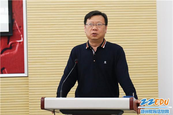 正校级干部刘明臣发表寄语