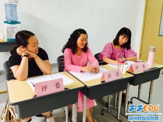 6王兰云老师担任郑州市优质课评委