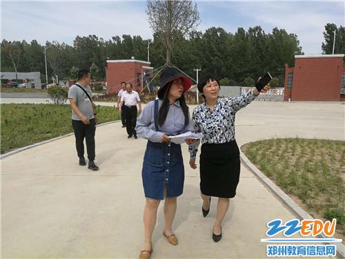 河南省装备中心专家莅临中牟县第七初级中学