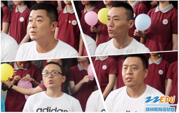 10老师带领学生一起影片主题曲《父子》