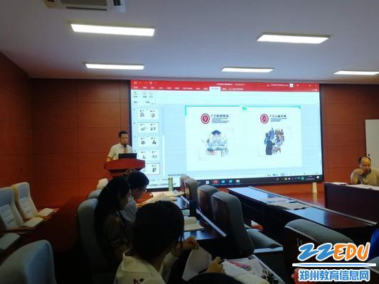 3、年级主任邓海珠再次强调招生纪律