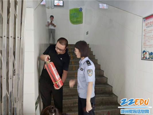 检查消防设施
