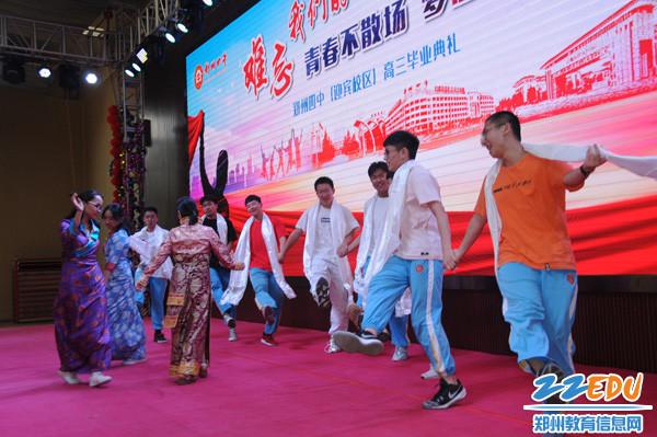 藏族传统锅庄舞表演1