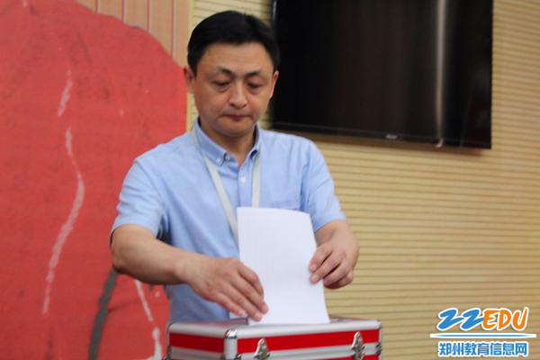 7副校长陈晓云投票