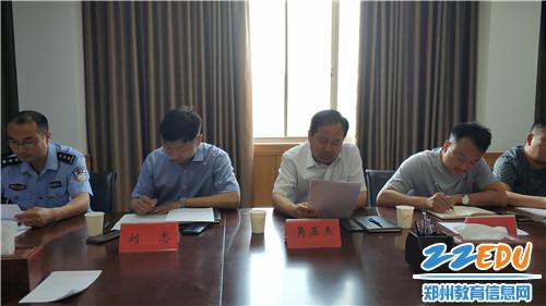 中牟县政府办副科级干部刘志讲话 (2)