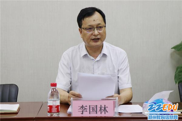 高新区社会事业局李国林副局长讲话