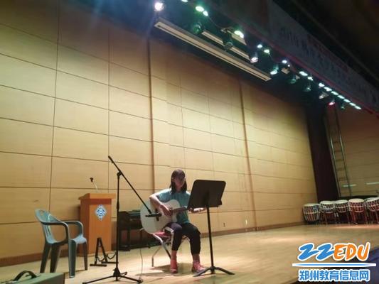 中韩文化交流之吉他展示